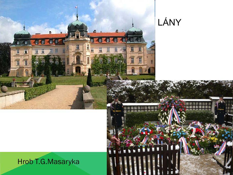 LÁNY Hrob T.G.Masaryka
