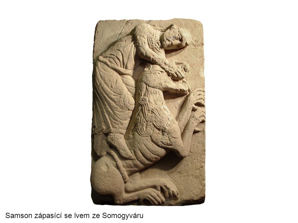 Samson zápasící se lvem ze Somogyváru