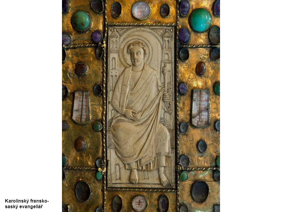 Karolinský fransko- saský evangeliář