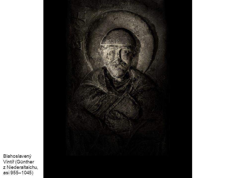 Matyáš Bernard Braun, Sv. Benedikt z Kladrub