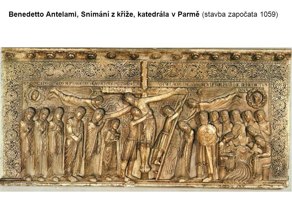 Benedetto Antelami, Snímání z kříže, katedrála v Parmě (stavba započata 1059)