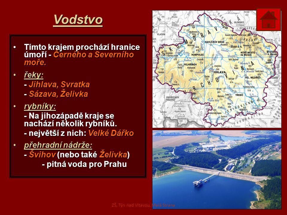 Vodstvo Tímto krajem prochází hranice úmoří - Černého a Severního moře.Tímto krajem prochází hranice úmoří - Černého a Severního moře. řeky:řeky: - Ji