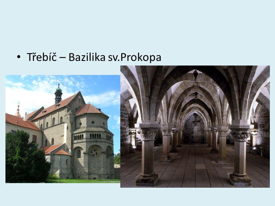 Třebíč – Bazilika sv.Prokopa