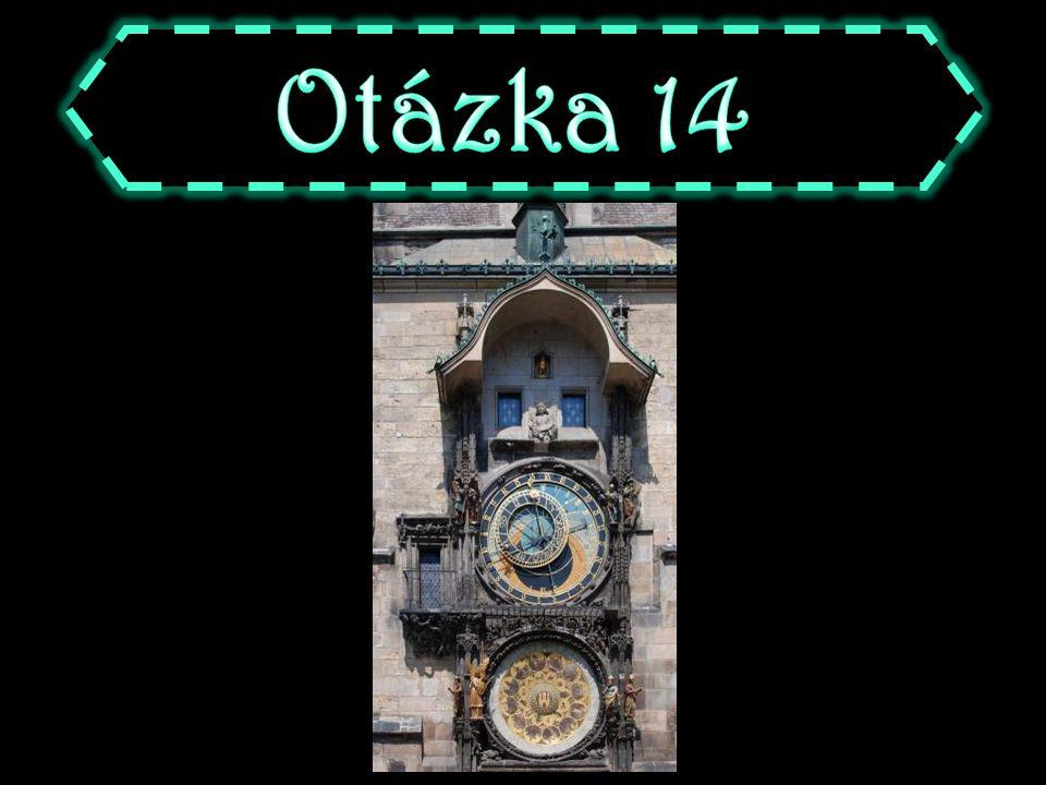A bazilika sv. Jiří B chrám sv. Víta C chrám sv. Mikuláše D bazilika sv. Václava
