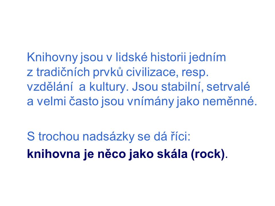 Praha, 15. června 2010 Svaz knihovníků a informačních pracovníků ČR