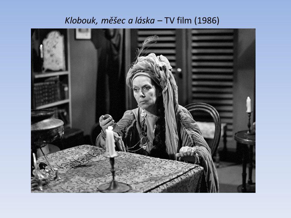 Rodina Bláhova s Milošem Hlavicou TV seriál (1959) Kadeř královny Bereniké s Jiřím Adamírou TV film (1993)