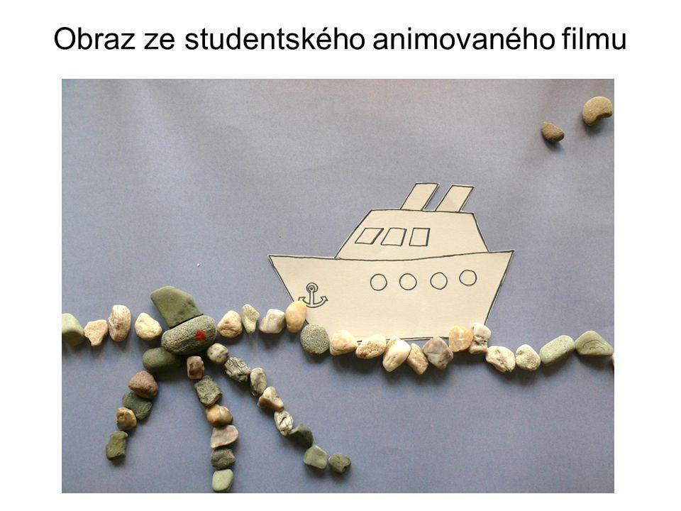 Obraz ze studentského animovaného filmu