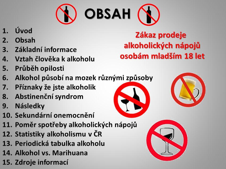 PPatří mezi nejzávažnější a nejrozšířenější formy závislosti ZZávislost na alkoholu nepostihuje jen jedince, ale i jeho rodinu TTato závislost se dá léčit PProblém s alkoholem v ČR má cca 25%mužů a 10%žen AAlkohol je sice legální, ale je srovnavatelný s drogami jako je kokain nebo opiáty