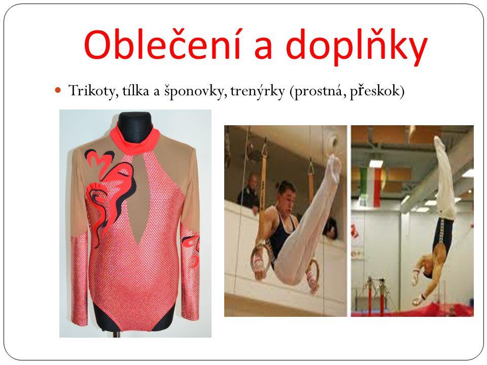 Oblečení a doplňky Trikoty, tílka a šponovky, trenýrky (prostná, p ř eskok)