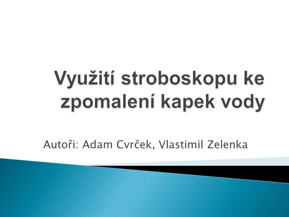 Autoři: Adam Cvrček, Vlastimil Zelenka