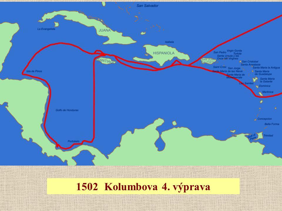 1502Kolumbova 4. výprava
