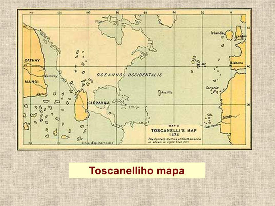 Toscanelliho mapa