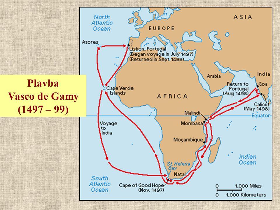Plavba Vasco de Gamy (1497 – 99)