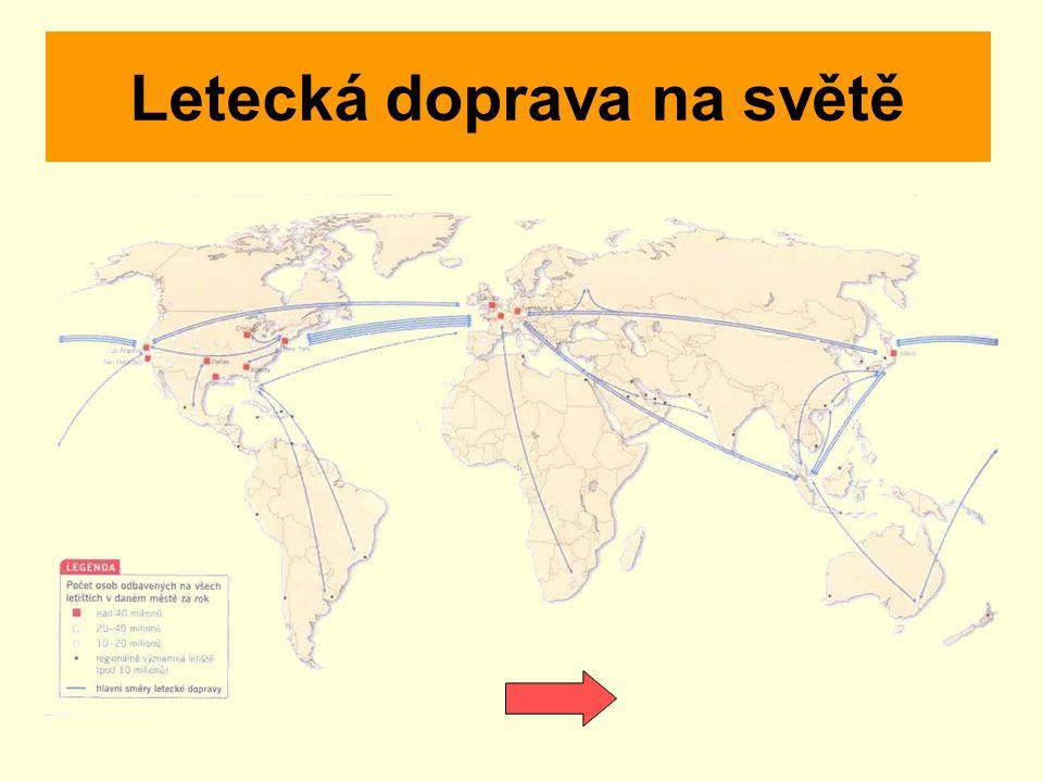 Letecká doprava na světě