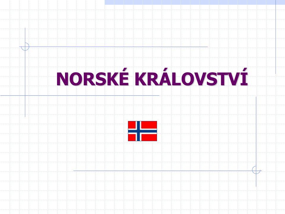 Oblasti Norska ESTLAND Nejvyspělejší, oblast kolem Osla Hliníkárny, konzervárny, strojírenství ZÁPADNÍ POBŘEŽÍ Rafinérie, přístavy, rybolov OBLAST ZA POLÁRNÍM KRUHEM Přístavy, zpracování ryb, chov sobů