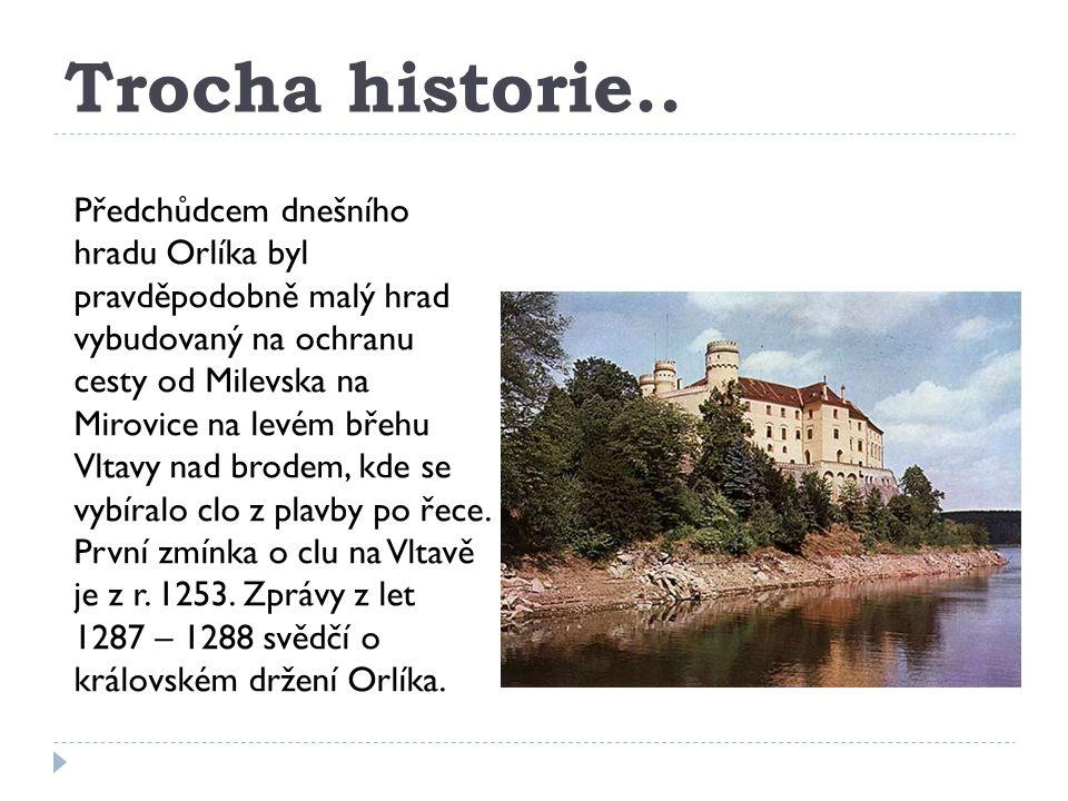 Orlí hnízdo nad Vltavou..