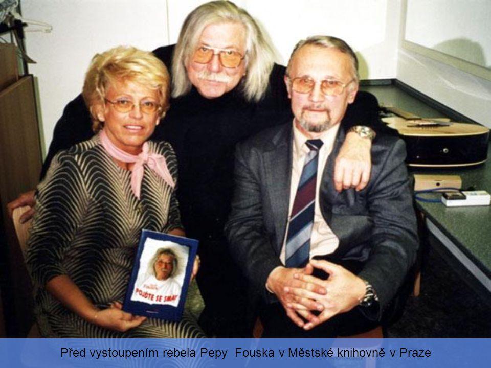 Spisovatel Miloslav Švandrlík a výtvarnice Jarmila Růžičková