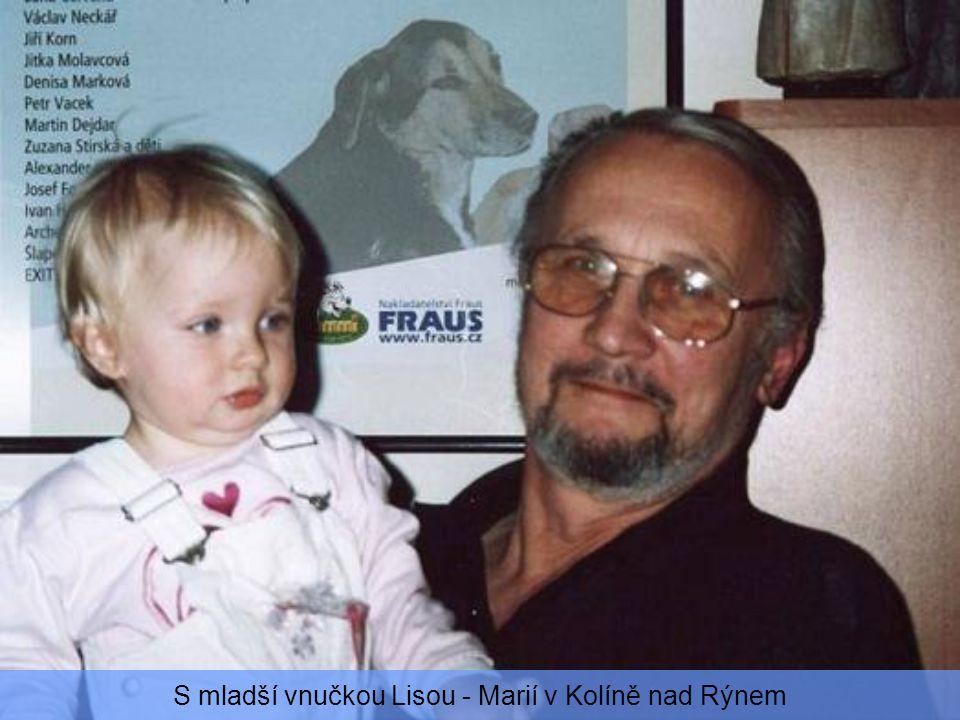 S vnučkou Jil – Janou v Německu v Recklighausen