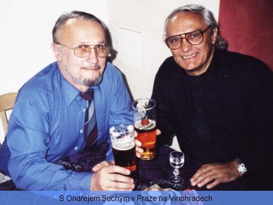 S Radovanem Lukavským a Milošem Nesvadbou v Národním divadle 2003
