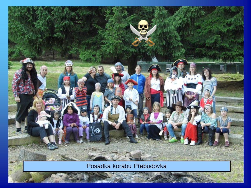 a také naší dětské posádce tábora v Přebudově.