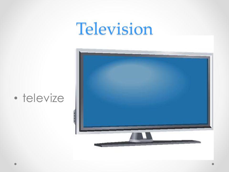 Television televize