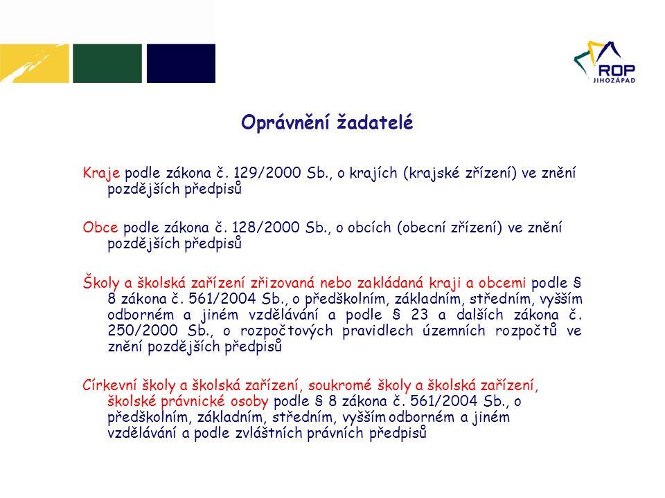 4.Prováděcí dokument ROP NUTS II JZ 5.