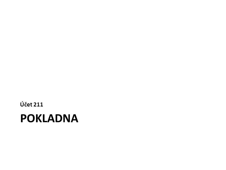 Převod z pokladny 1 do pokladny 2 » VPDpok1261/211.100 » PPDpok2211.200/261 Převod z banky 1 do banky 2 » BVbanka1261/221.100 » BVbanka2221.200/261