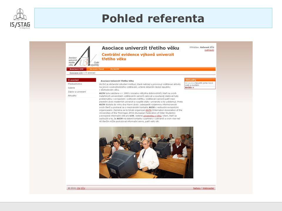 Pohled referenta