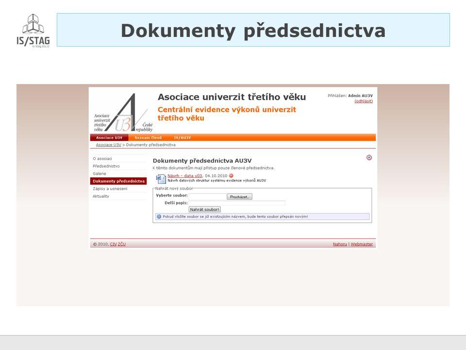Dokumenty veřejné