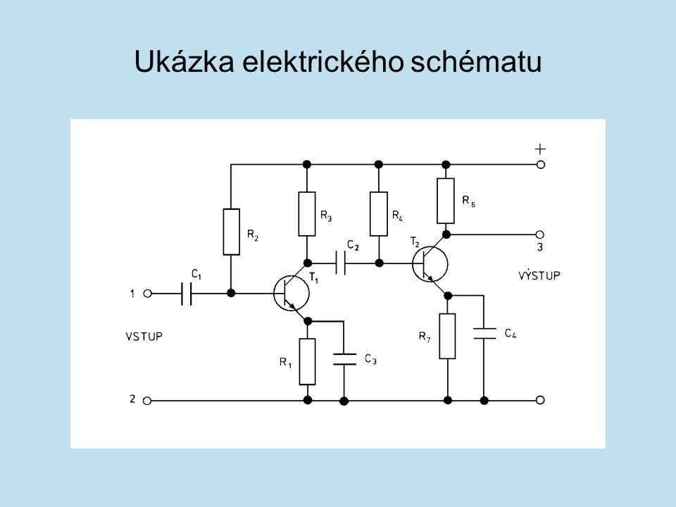 Ukázka elektrického schématu