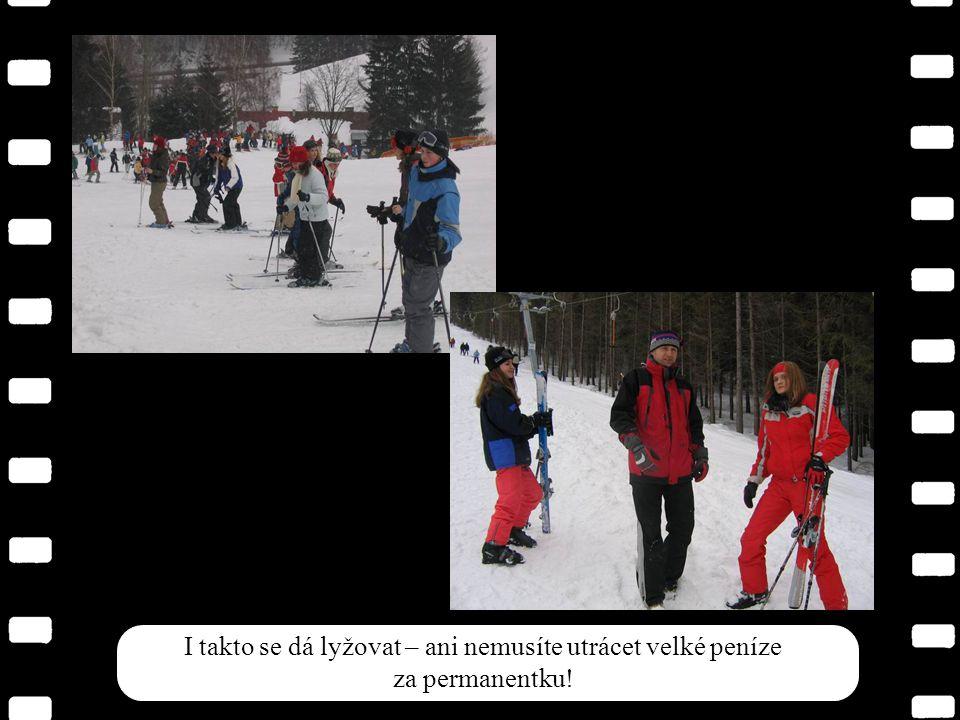 I takto se dá lyžovat – ani nemusíte utrácet velké peníze za permanentku!