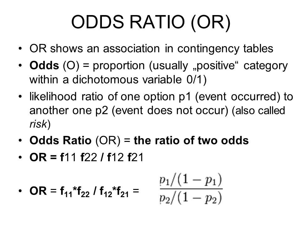 ODDS RATIO v mobilitní tabulce - úkol Vzdělanostní mobilita (otec → syn/dcera) populace 18+ (v roce 2007) Porovnejte stejné šance (na VŠ pro VŠ/VY) jako v předchozím příkladu: 1.