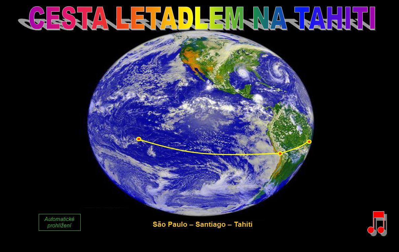 São Paulo – Santiago – Tahiti Automatické prohlížení