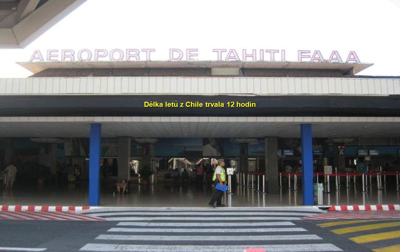 Délka letu z Chile trvala 12 hodin
