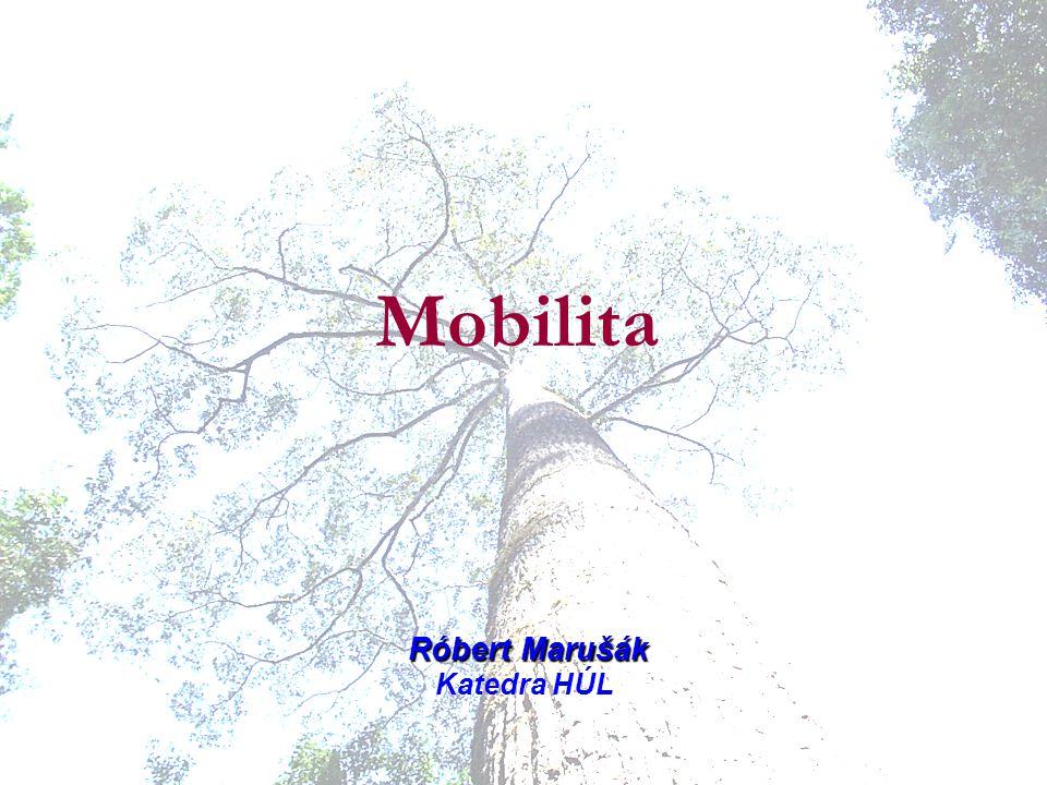 Mobilita Róbert Marušák Katedra HÚL
