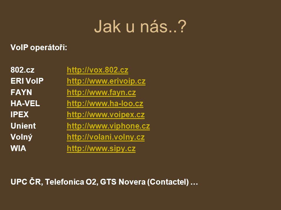 Jak na VoIP? Softwarový klient, ATA adaptér, IP telefon, Smartphone