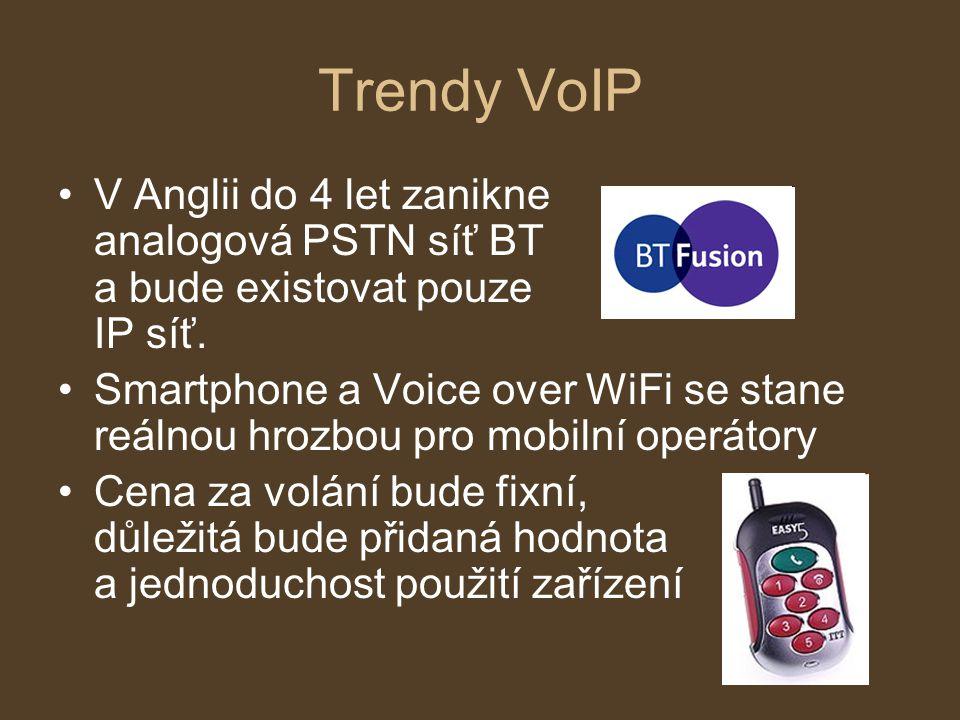 Trendy VoIP V Anglii do 4 let zanikne analogová PSTN síť BT a bude existovat pouze IP síť.