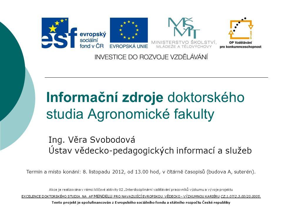 Vzdálený přístup přes federaci identit (Shibboleth login) Ovid SP, Ebsco, Web of Knowledge