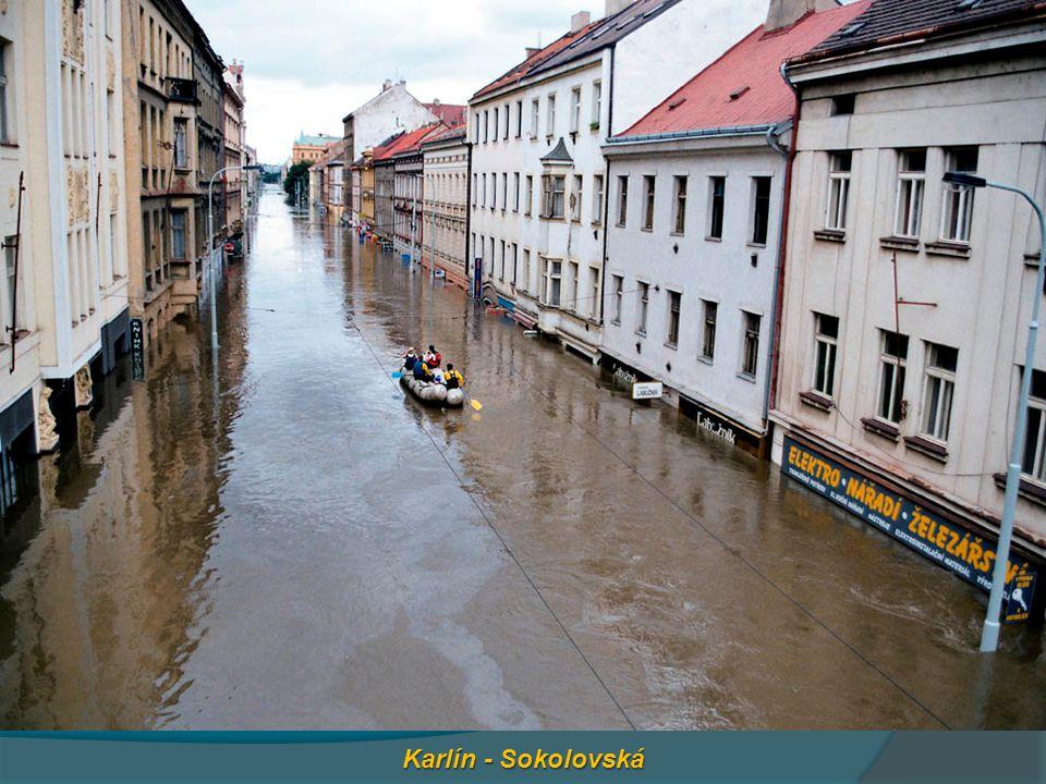 Karlín - Sokolovská