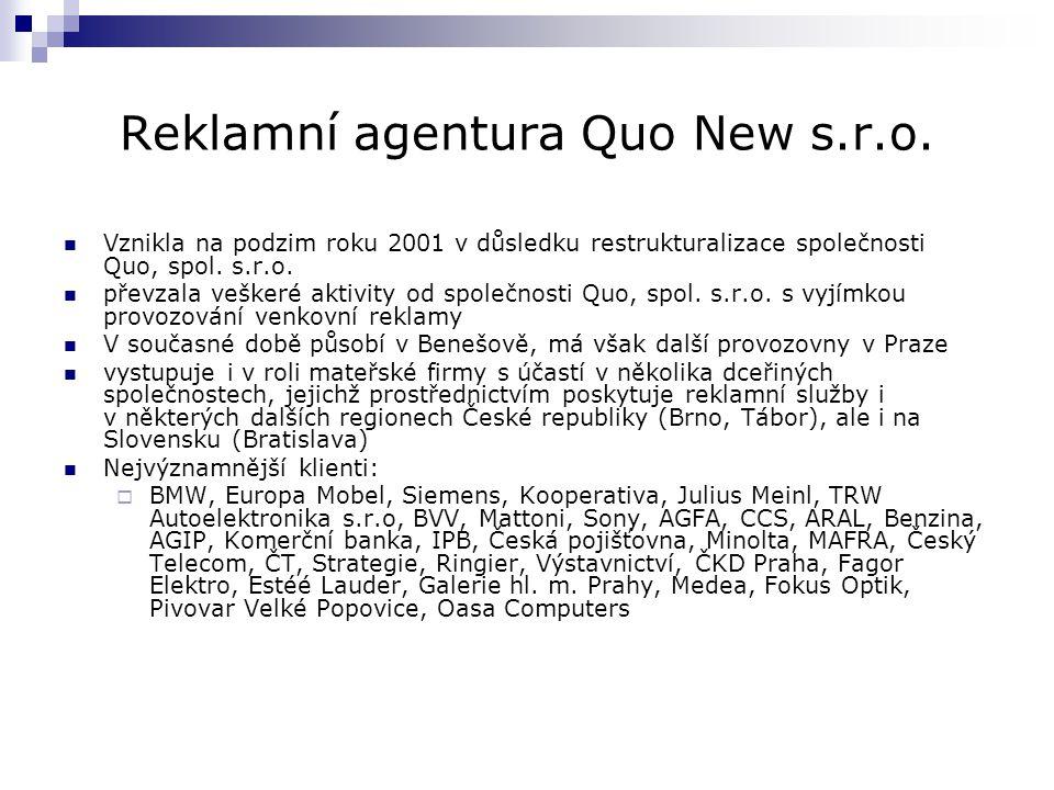 Reklamní agentura Quo New s.r.o.