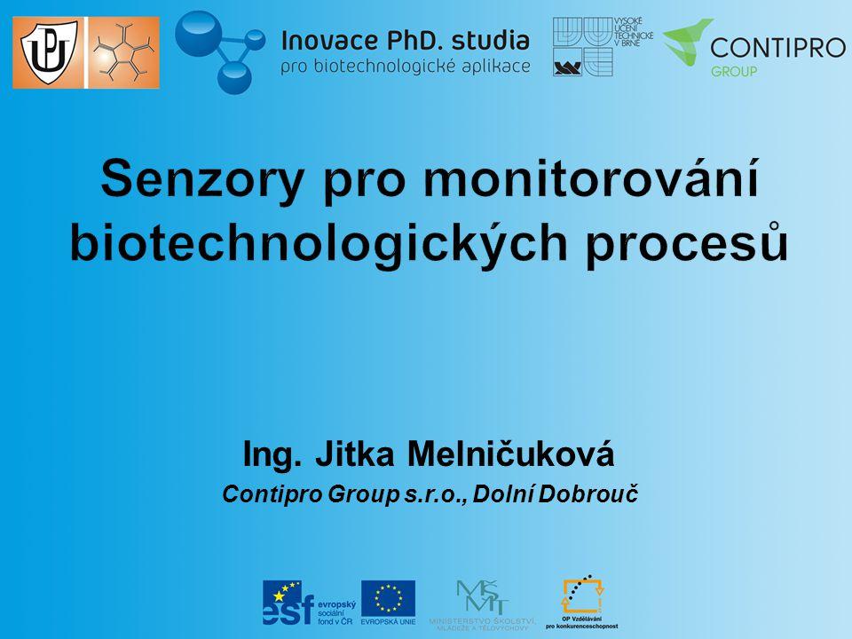 Ing. Jitka Melničuková Contipro Group s.r.o., Dolní Dobrouč
