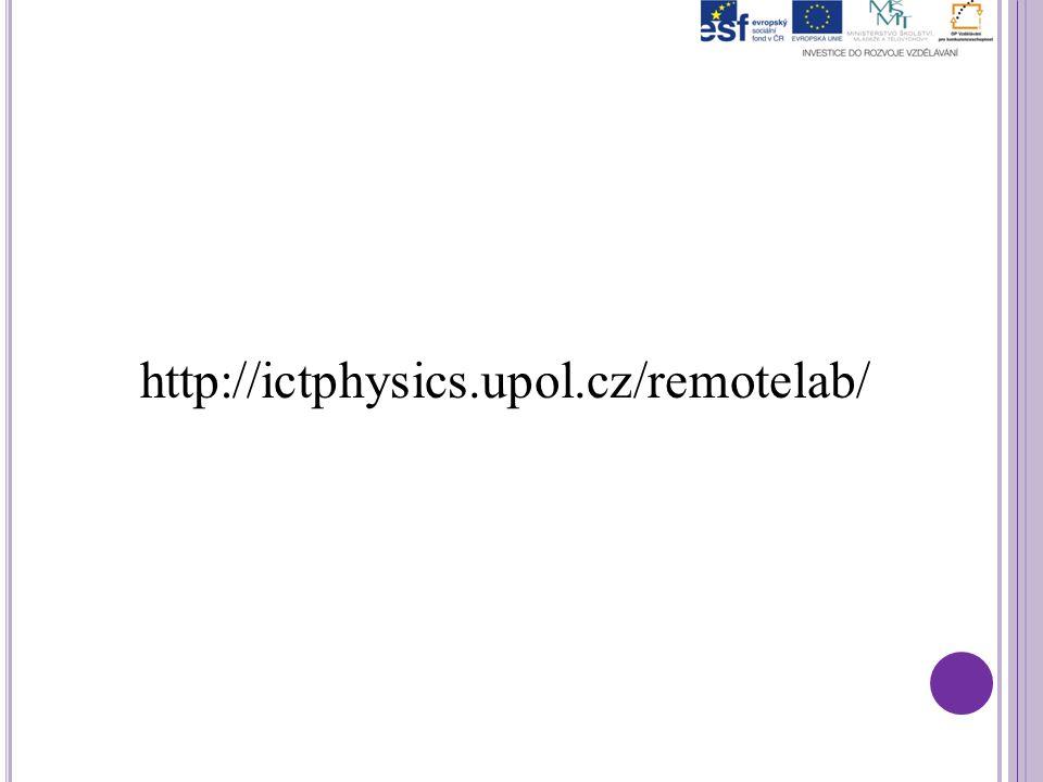 http://ictphysics.upol.cz/remotelab/