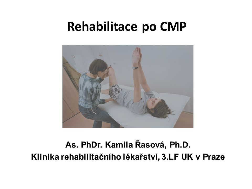 Balance therapy based on Bobath concept