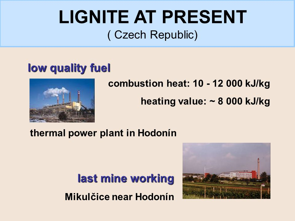 coal + biomass surface activity high content of humic substances valuable chemical raw material ESSENCE: LIGNITE IN THE FUTURE?