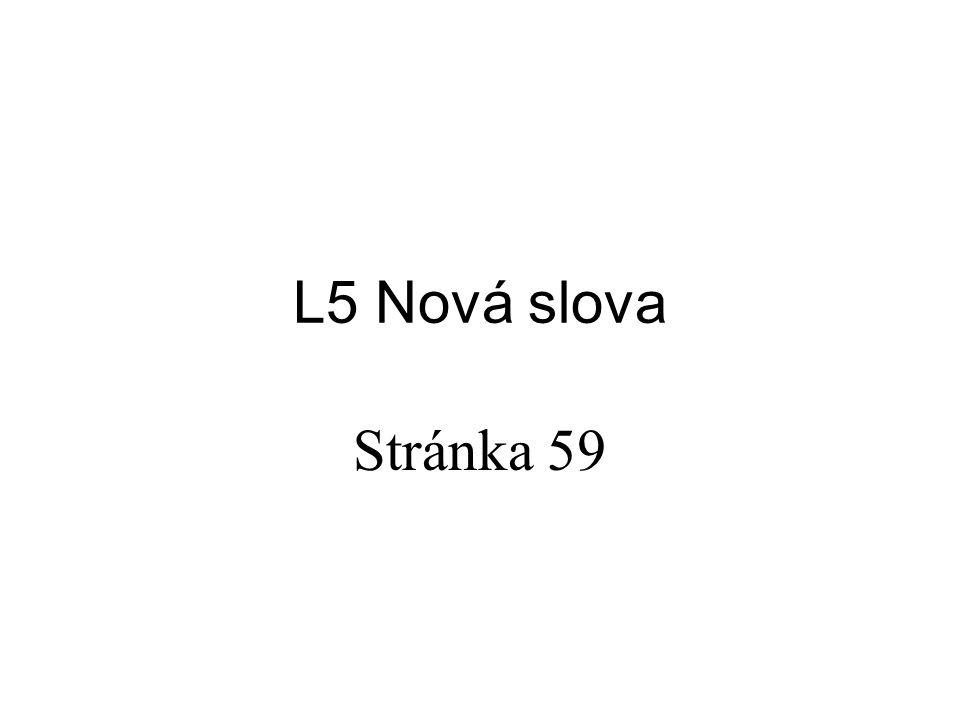 L5 Nová slova Stránka 59