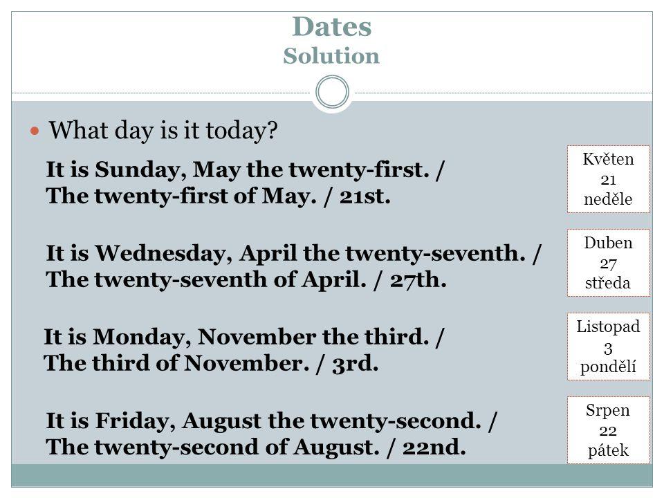 Translate Solution Druhý den.The second day.28 vteřin.Twenty-eight seconds.