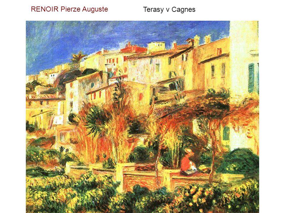 RENOIR Pierre Auguste Dvě sestry na terase