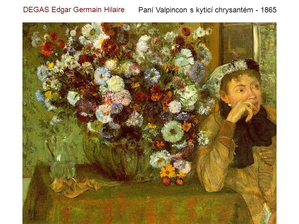 DEGAS Edgar Germain Hilaire Baletní hodina