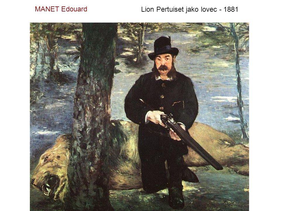 MANET Edouard Na konzervatoři - 1879
