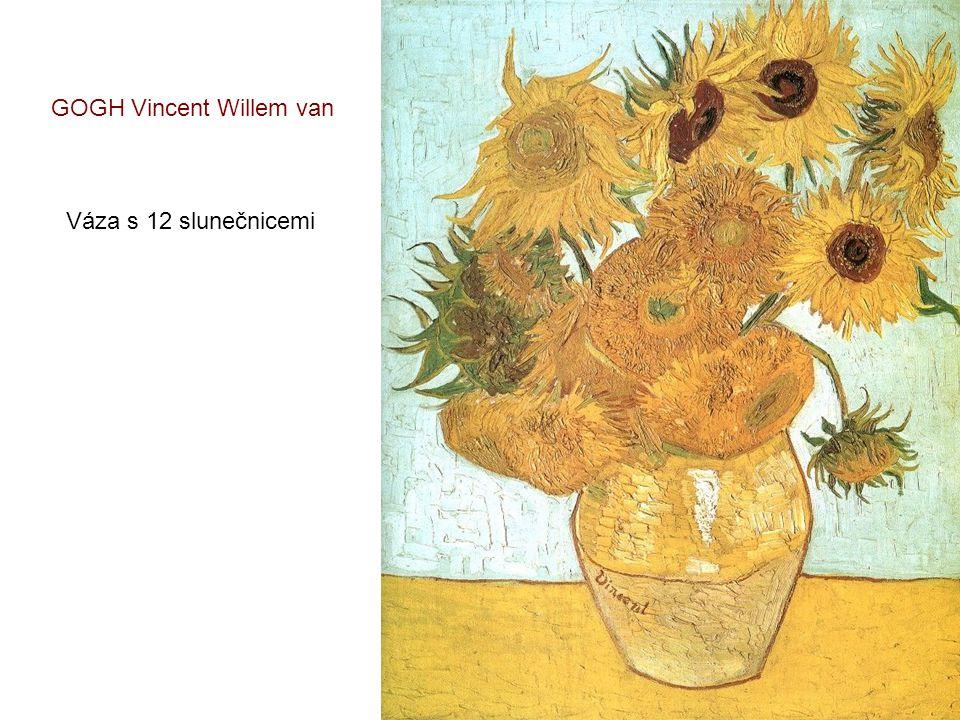 GOGH Vincent Willem van První kroky
